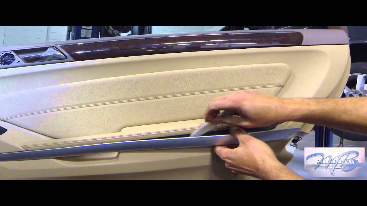Mb Autohaus Mercedes Benz Rear Door Panel For Ml R Gl Cl Removal