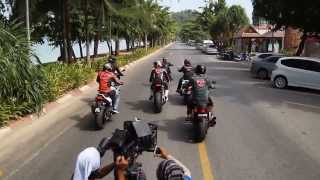Film Bikers Kental At Krabi Thailand