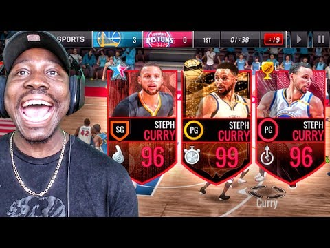 WHICH STEPH CURRY CAN SCORE THE MOST POINTS? NBA Live Mobile 16 Gameplay Ep. 130