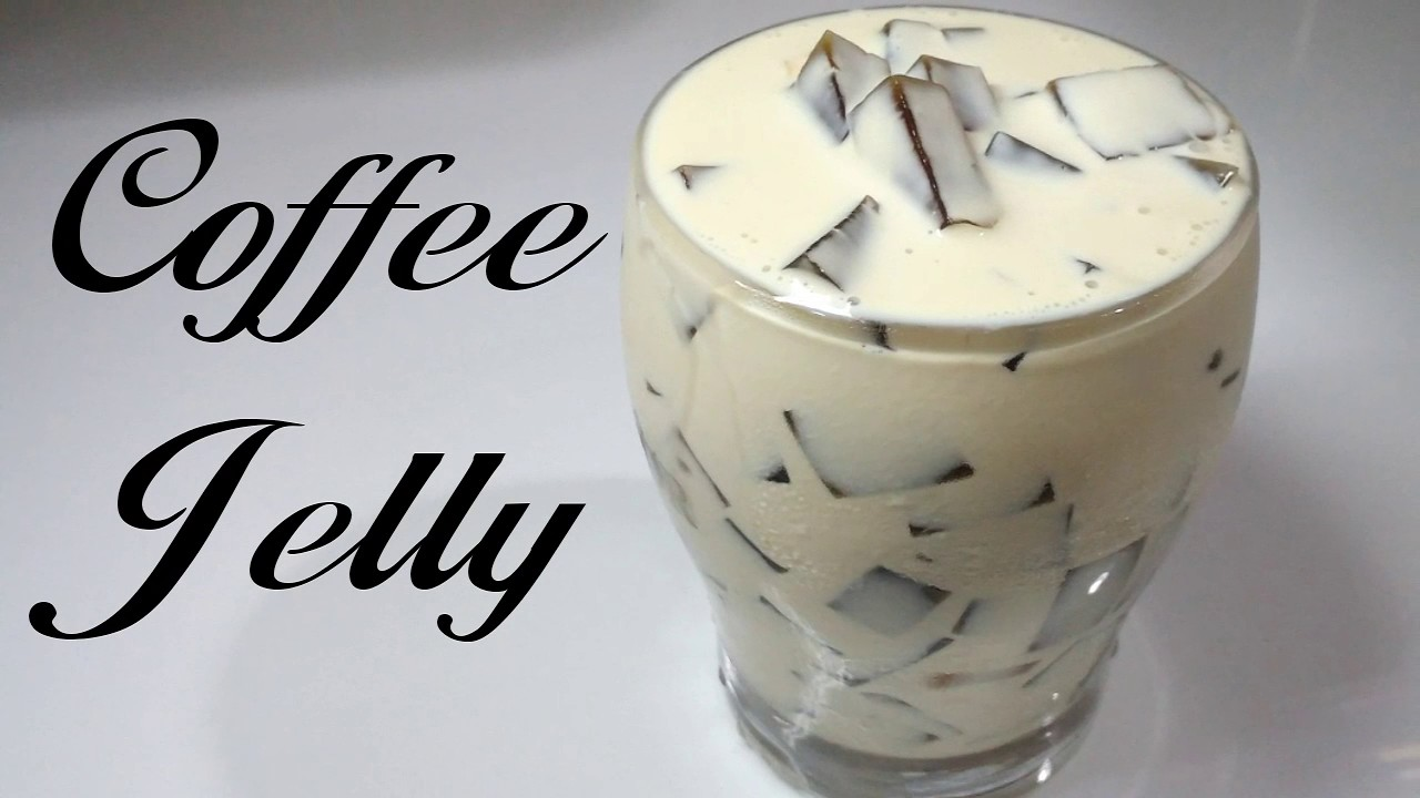 Coffee Jelly Recipe - YouTube