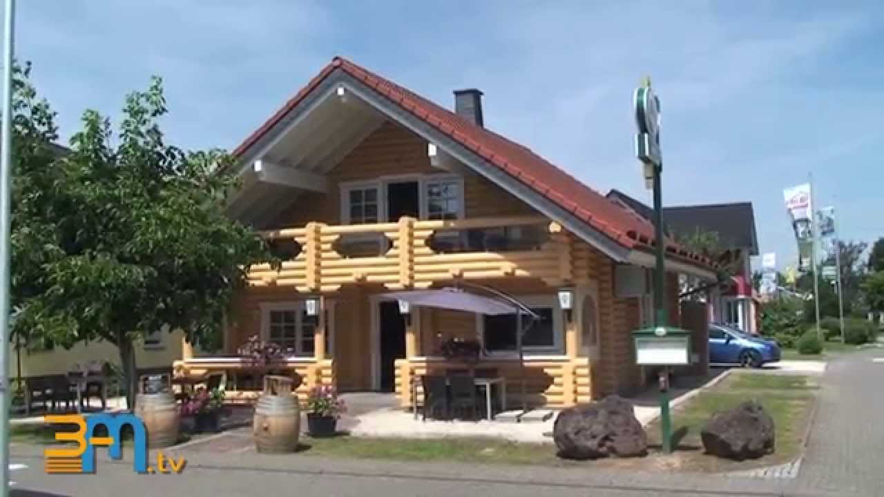holzhaus das restaurant in m lheim k rlich youtube. Black Bedroom Furniture Sets. Home Design Ideas