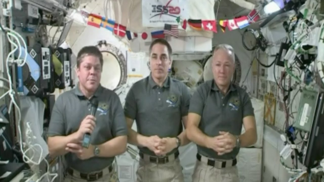 NASA astronauts returning home in two weeks from International Space Station