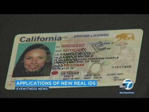 REAL ID: DMV begins to accept applications I ABC7