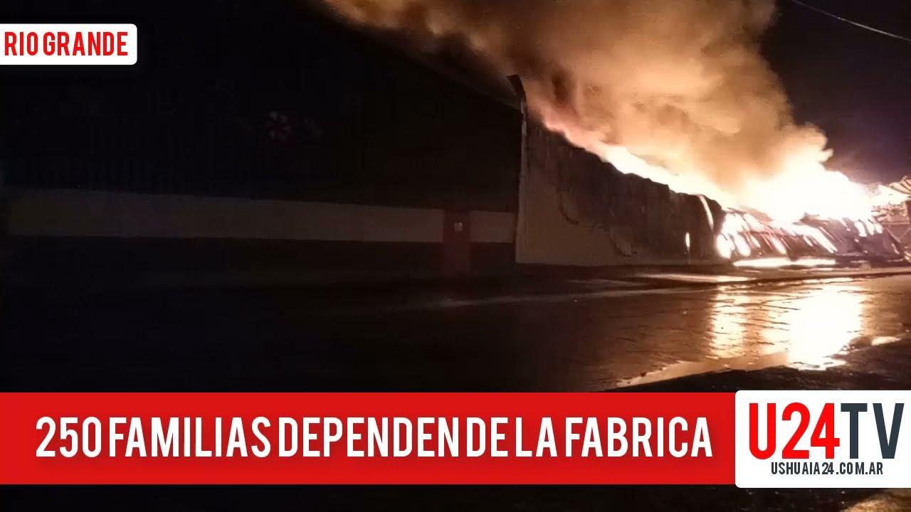 Incendio en la fábrica Australtex