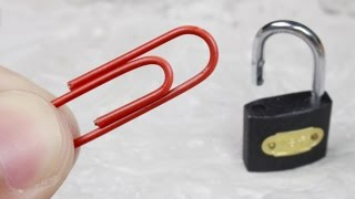 4 Life hacks with paper clips