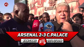 Arsenal 2-3 Crystal Palace | Emery Should Keep Playing The Best Team! (Heavy D Rant)