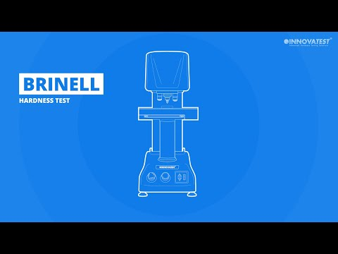 Brinell test hardness scale (HB)