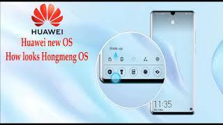 Harmony OS Leaked Images of  Harmony OS/  HONGMENG OS. Huawei Operating System