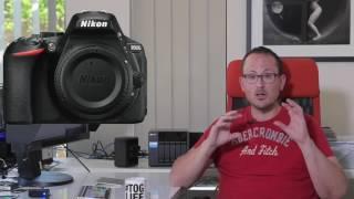 Nikon D5600 overview