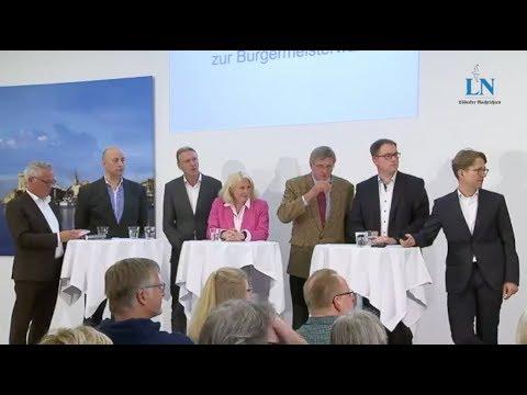 Debatte: Diese Kandidaten wollen Bürgermeister von Lübeck werden