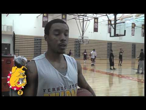 Ferris State University Men's Basketball Chat: Darien Gay