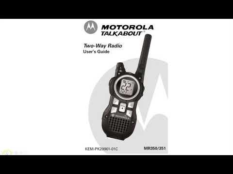 #0214 Motorola MR350,