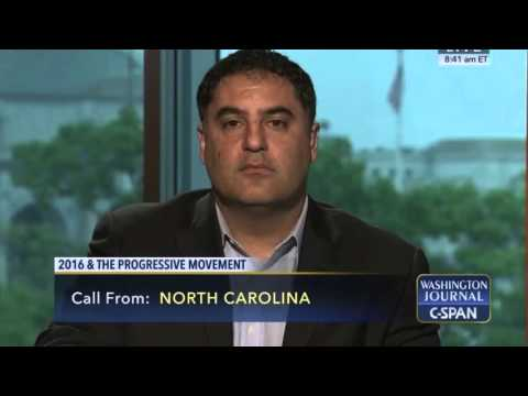 Cenk Uygur On C-SPAN's Washington Journal
