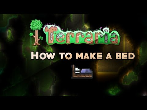 Terraria How To Make Bed