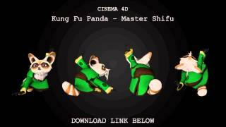 Cinema 4D | Master Shifu Model Download