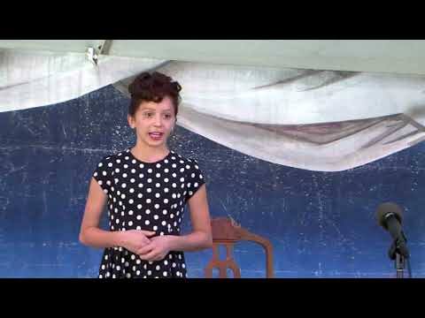 Heiman Elementary School: Kaitlyn Fenton as Lucille Ball