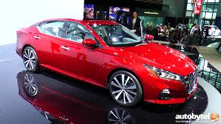 2019 Nissan Altima *First Look* Debut @ NYIAS