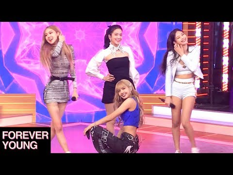 """BLACKPINK """"Forever Young"""" - LIVE In NYC (60fps Fancam 02-12-19)"""