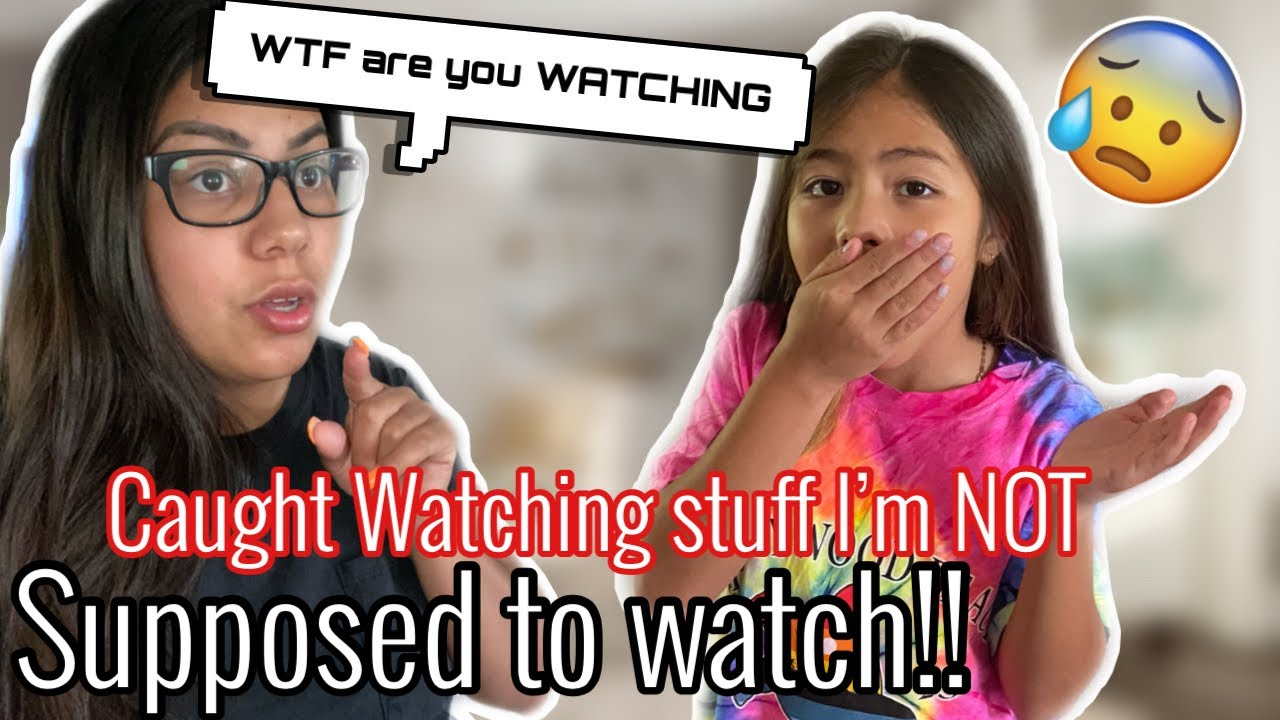 WATCHING SOMETHING IM NOT SUPPOSED TO WATCH PRANK ON MY MOM!!! **SHE TRIED TO DRAG ME OFF THE BED**