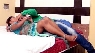 Malu Indian Bhojpuri Cinema Romance scene in Bedroom - UnCut Film Clip