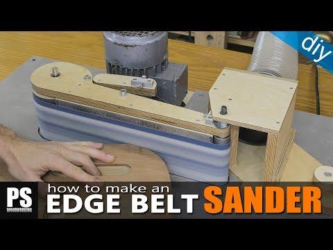 Homemade Edge Belt Sander / part1