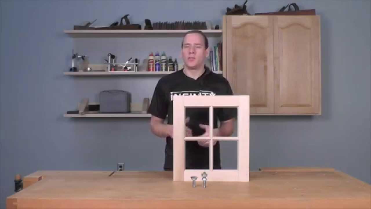 Infinity Cutting Tools Window Sash Jr Router Bit Set