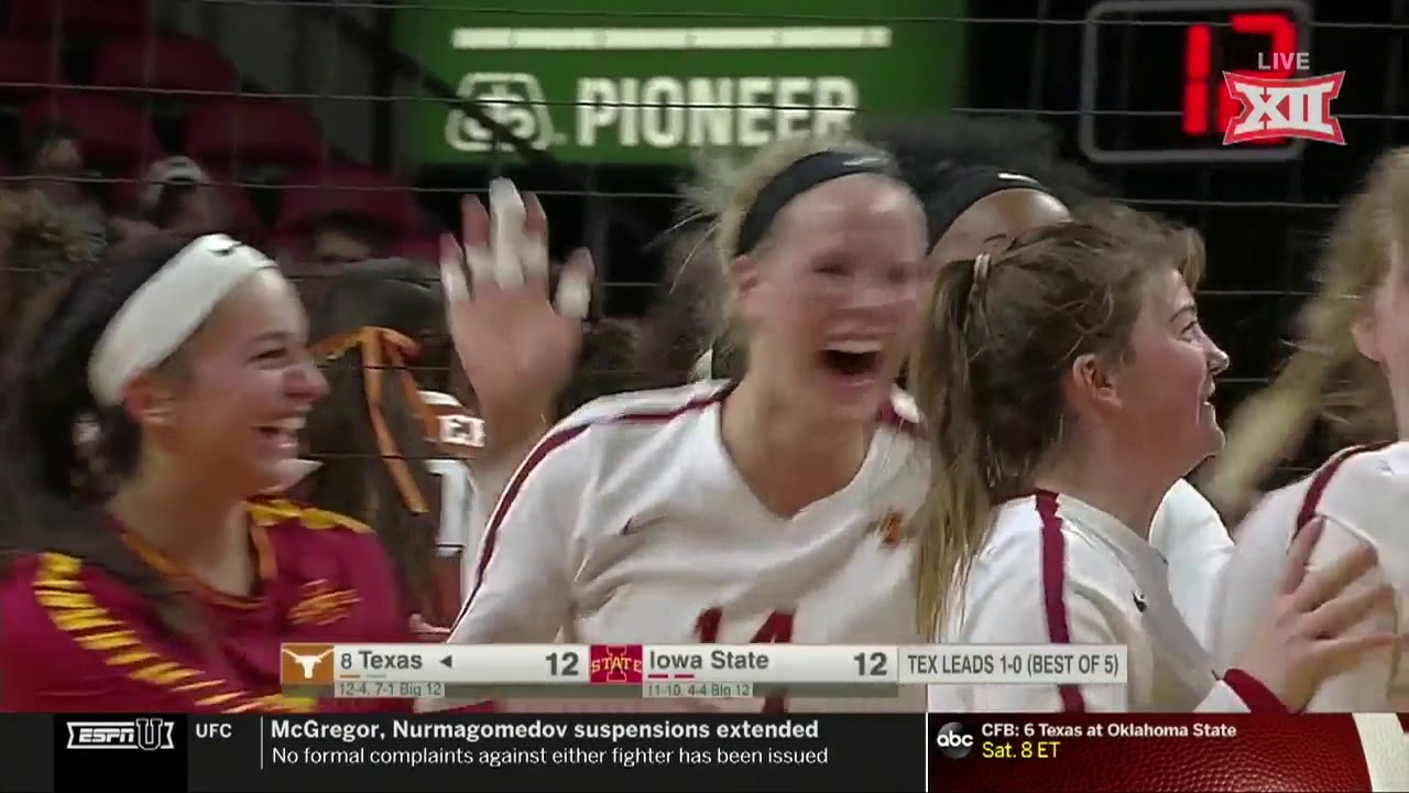 texas-vs-iowa-state-volleyball-highlights