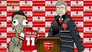 👽🎬Wenger and Mesut Ozil in PARODY REMAKE🎬👽 ( 442oons Arsenal football cartoon)
