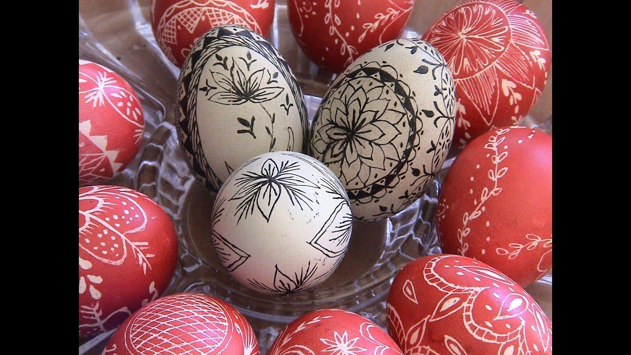 Τα πασχαλινά αυγά της Αγνής Παραδοσιακές quot περδίκες