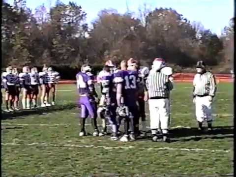 1995 IHSA FOOTBALL PLAYOFFS ROUND 2 CM EAGLES VS. HIGHLAND BULLDOGS PART 1
