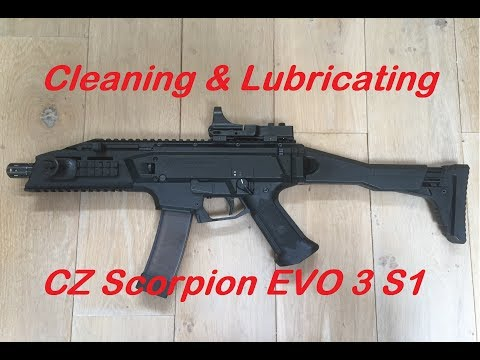Cleaning & Lubricating - CZ Scorpion EVO 3 S1