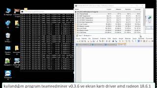 How to mine Monero with teamredminer / Monero / InfiniTube