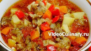 Лагман с рисом по-узбекски - Рецепт Бабушки Эммы