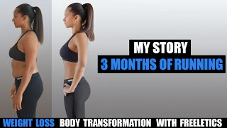 My 3 Month Bikini Body Weight Loss Transformation with Freeletics Running thumbnail