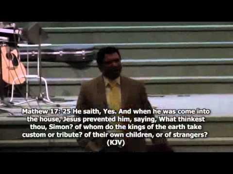 The Power of God through weakness- Pastor Anison Samuel