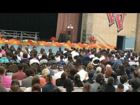 Hayle's 8th Grade Promotion Speech Vista View Middle School