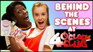 💖 CBBC'S 4'O CLOCK CLUB   Behind the scenes 🎬