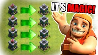 HOW DID WE GET SO MUCH GOLD!?...........................UPGRADE HYPE! - Clash Of Clans