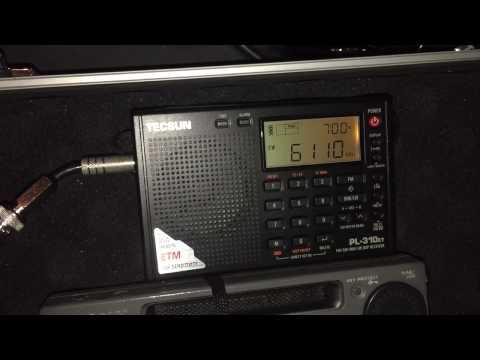 Sony ICF-SW77 vs ICF-SW55 vs Tecsun PL-310ET: Radio Fana 6110 kHz, Addis Ababa, Ethiopia