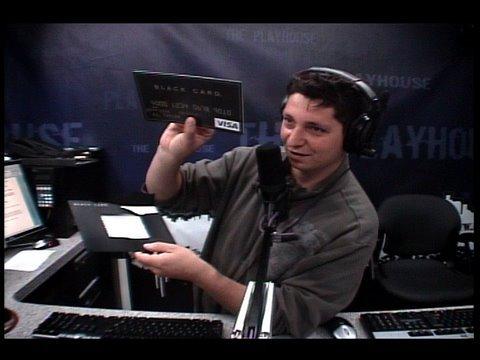PK Gets a Black Card