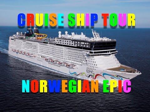 Norwegian EPIC Cruise Ship Tour
