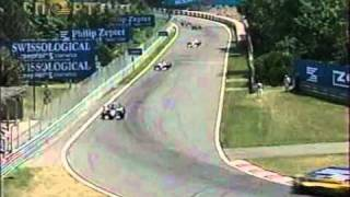 Formula 1. Canada 1999. David Coulthard VS Eddie Irvine