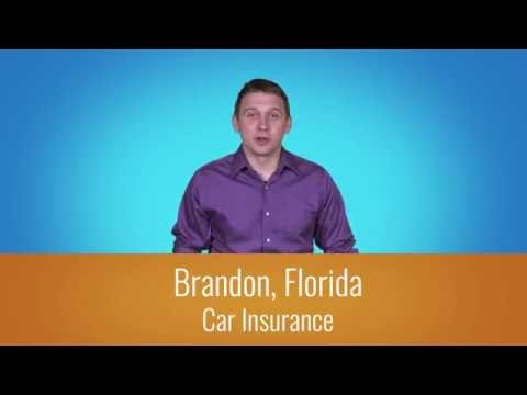 Car Insurance Brandon Fl - 1-800-998-0662