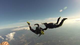 Skydive Fail instructor saves students life