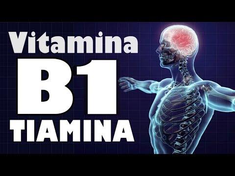 VITAMINA B1 ''TIAMINA'' |  Sistema Nervioso Saludable