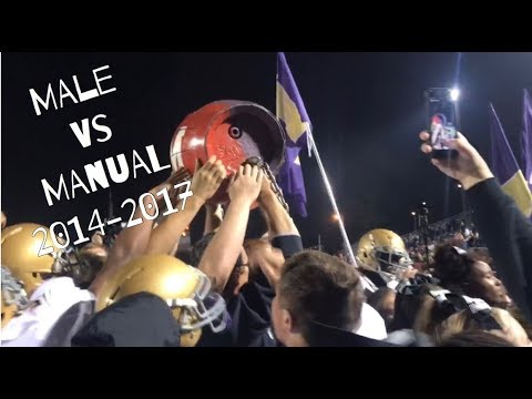Male vs Manual 2014-2017