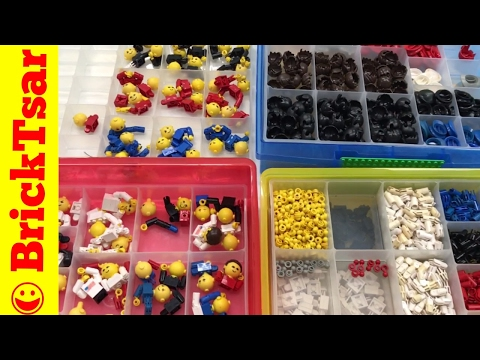 LEGO Maxifigure Sorting and Storage Station - Vintage LEGO People