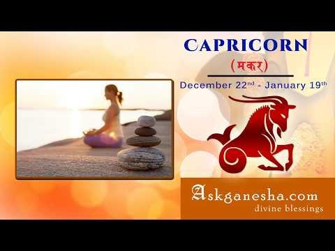 ask ganesha astrology for capricorn