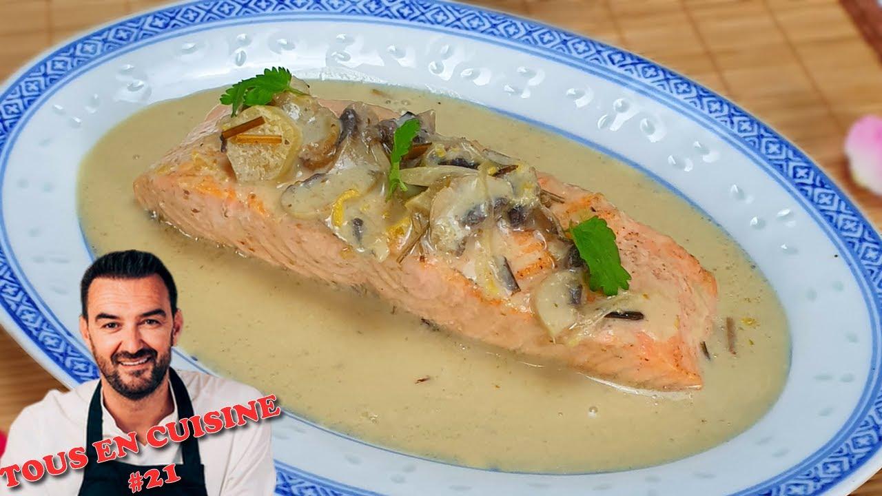 Tous En Cuisine 21 Le Saumon Bouillon Thai Riz Au Petits Pois
