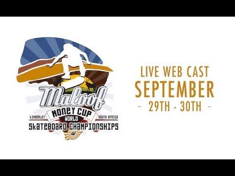 2012 Maloof Money Cup World Skateboarding Championships Day 1 Live